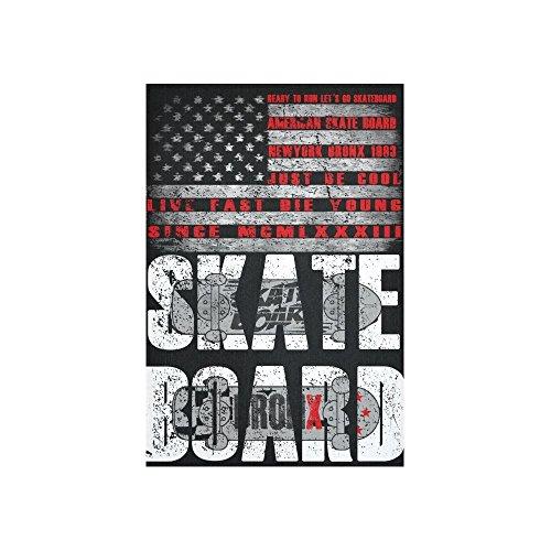 Wandbehang Tapisserie, Extreme Skate Board Kunst Gemälde Wandbehang Home Decor für Wohnzimmer Schlafzimmer Wohnheim 152,4x 101,6cm (Skateboard-zimmer Dekor)