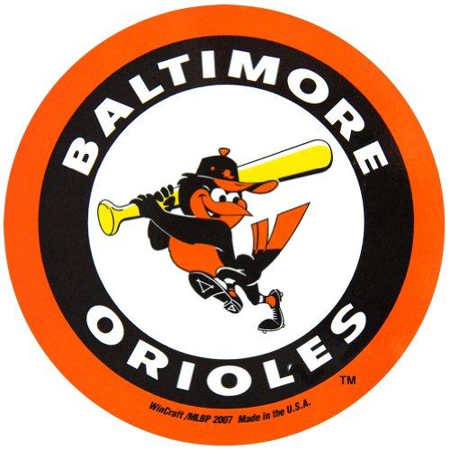 Baltimore Orioles-magnet (Baltimore Orioles Official MLB 4.5 inch x 6 inch Car Magnet by Wincraft by WinCraft)