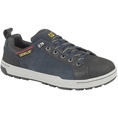 Caterpillar Mens Brode Lo Safety Work Shoes Navy