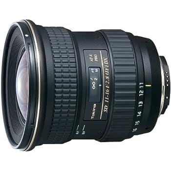 Tokina AT-X 116 PRO DX - Objetivo para Sony (distancia focal 11-1 6mm, apertura f2.8), negro