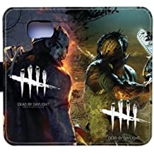 Dead by Daylight Phone Cover Leather Wallet Case Protective Case for Samsung Galaxy S6