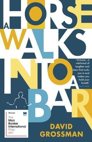 Buchseite und Rezensionen zu 'A Horse Walks into a Bar' von David Grossman