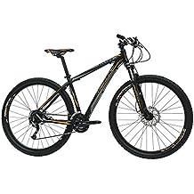 Monty KY39 Bicicleta de Montaña, Unisex Adulto, Negro, ...