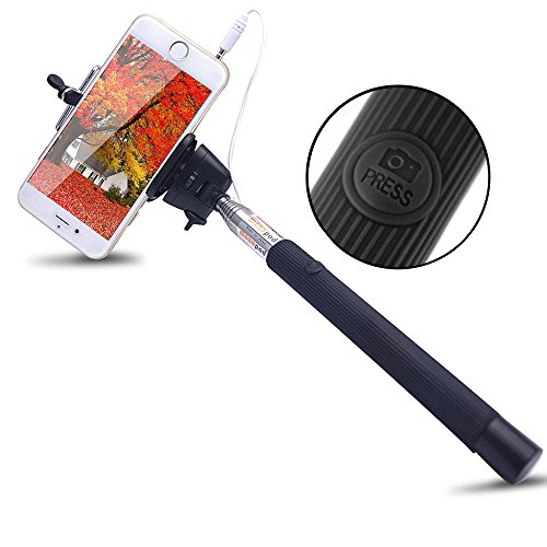 Shopaholic Charge Free Cable take pole Selfie For Android,iPhone