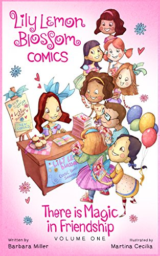 Lily Lemon Blossom Comics Vol. 1: There is Magic in Friendship: (A collection of four delightful mini magical adventures for children beginner readers ages 3-5 ) (English Edition) Elmo Sesame Street Shorts