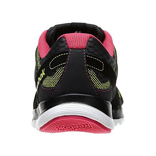 Reebok Sublite Duo Flow Running Femme Sneakers, Gris Noir