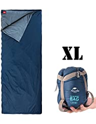 Outdoor Sleeping Bag IeGeek Ultra Light Envelope Rectangular Bags Zip Together Sleep Multifuction Sack 3 Season For Camping Travelling