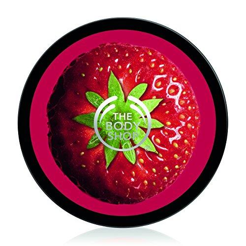The Body Shop Strawberry Body Butter/Erdbeere Körperbutter für Normal Haut große 400ml