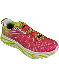HOKA ONE ONE HUAKA ROSE ET JAUNE Chaussures de running femme