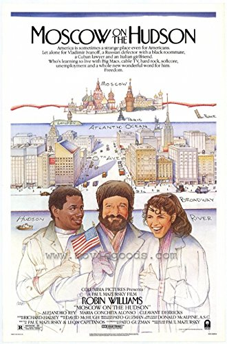 Moscow on The Hudson Movie Poster (68,58 x 101,60 cm) - Hudson Movie Poster