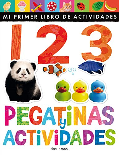 1 2 3. Pegatinas Y Actividades
