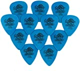 Jim Dunlop Tortex Guitar Picks / Plectrums: 1.00 mm (Pack of 12 Picks)