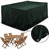 Abdeckung Sitzgruppe 6 + 1 | 242 x 162 x 100cm | Sitzgruppe 6 Stühle + 1 Tische | Schutzhülle...