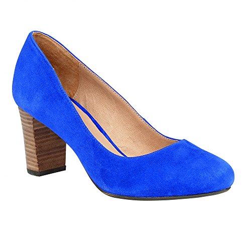 Lotus Gaize Womens Dress Court Shoes 6 Cobalt Blue