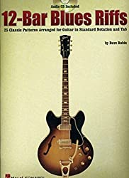12-Bar Blues Riffs: 25 Classic Patterns Arranged for Guitar in Standard Notation and Tab (Riff Notes) by Dave Rubin (2004-04-01)