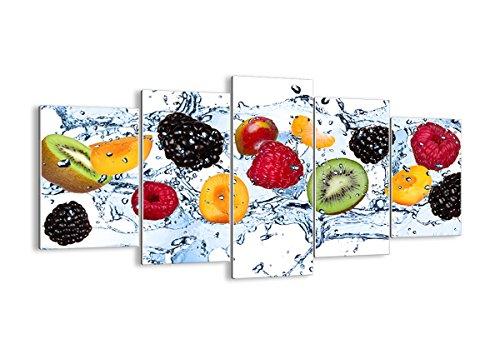 Bild auf Glas - Glasbilder - fünf Teile - Breite: 160cm, Höhe: 85cm - Bildnummer 2675 - fünfteilig - mehrteilig - zum Aufhängen bereit - Bilder - Kunstdruck - GEA160x85-2675
