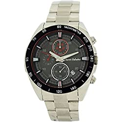Gianni Sabatini Gents Chronograph Date Dial Stainless Steel Bracelet Strap Watch
