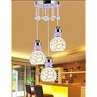 Goud lampadario lampadario–Tradizionale/classica/rustico/vintage/Vintage/Globe–con cristallo/led–Metallo
