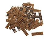 VBS Großhandelspackung 100 Stoff-Label Hand Made von VBS Hobby Service