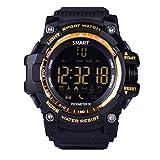 Bluetooth Smart Watch V8Full Circular Bildschirm Smartwatch Armband unterstützt SIM-Karte und TF für Apple iOS Android Handy Gold EX16