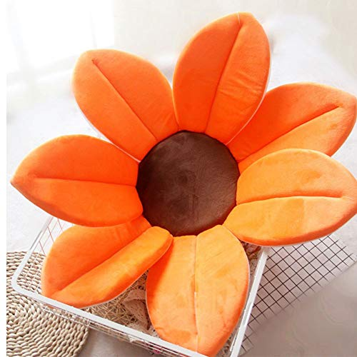 vitihipsy Newborn Baby Bath Pad Sunflower Cushion Mat Bathtub Foldable Blooming Bath Flower Bath Tub for Baby Blooming Sink Bath For Baby Play Bath