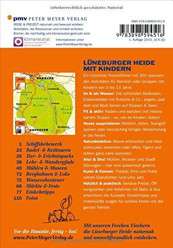 Lüneburger Heide mit Kindern: 300 spannende Ausflüge in das Naturparadies zwischen Hamburg und Hannover (Freizeitführer mit Kindern) - 2
