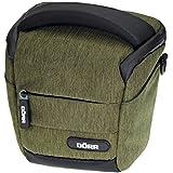 Dörr 456514 Halfter Motion Fototasche für 1x kleine Systemkamera mit 2x Objektiven/Kleinzubehör (Größe: S) oliv
