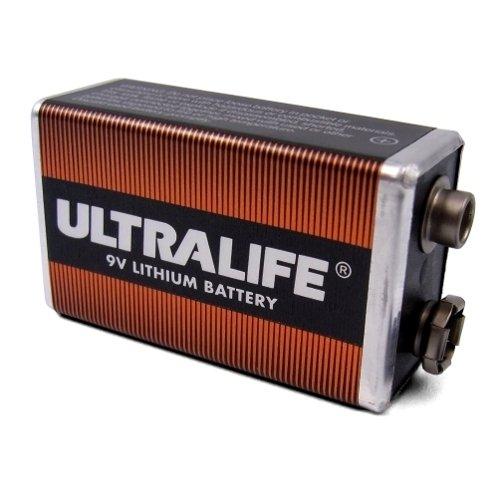 ULTRALIFE 9V batterie Lithium Ah (Bulk)