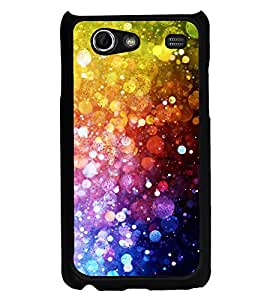 Fiobs Designer Back Case Cover for Samsung Galaxy S Advance i9070 (jaipur rajasthan african america cross pattern)