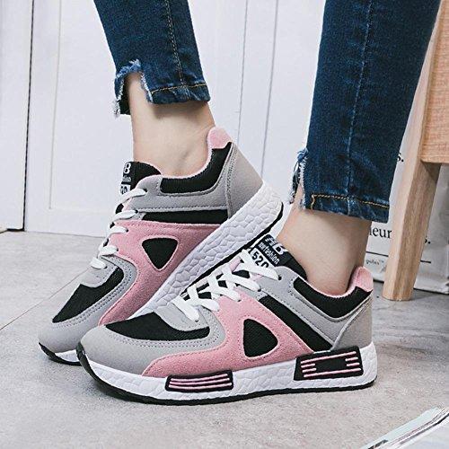 Scarpe casuali di sport delle signore / delle ragazze Primavera / Estate / Autunno Sneaker piatto alla moda di modo Pink
