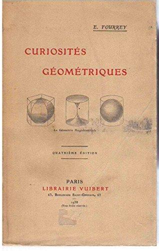 E. Fourrey. Curiosités géométriques. 4 édition