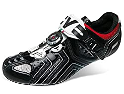 Vittoria Hora Cycling Shoes, Gloss Black, 41 EU/8 D US