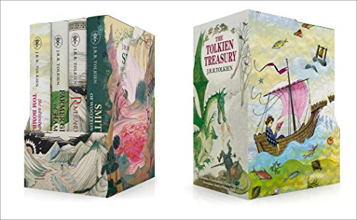 Pack The Tolkien Treasury: Roverandom, Farmer Giles Of Ham, The Adventures Of Tom Bombadil, Smith Of Wootton Major por J.R.R. Tolkien
