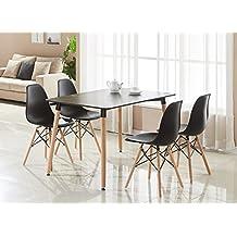 p n homewares table et chaise de salle manger style rtro