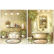Amazon.es: cuadros para el baño