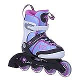 K2 Mädchen Inline Skates Cadence Mehrfarbig - ABEC 3 Kugellager Softboot - Größe Verstellbar 29-34- Kinder Inlineskates Anfänger