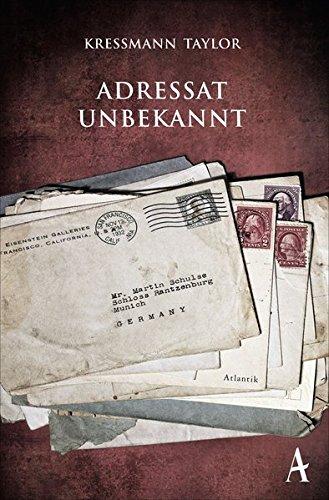 Katherine Kressmann Taylor Adressat Unbekannt