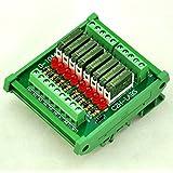 ELECTRONICS-SALON delgado montaje en carril DIN DC24V fuente/PnP 8 SPST-NO 5 A Potencia Módulo de relé, PA1a-24V
