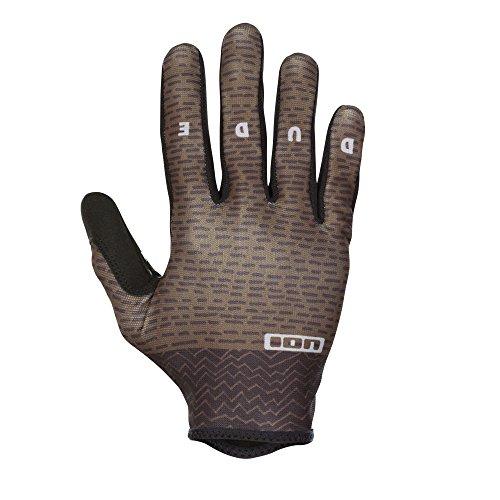 Ion Dude MX DH FR Fahrrad Handschuhe lang oliv grün 2018: Größe: M