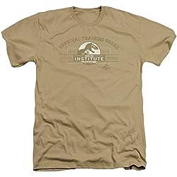 Parque jurásico dinosaurios película de acción supervivencia formación escuadrón adulto camiseta Tee