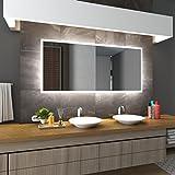 Bilderdepot24 Beleuchteter LED Spiegel Badspiegel Wandspiegel mit Beleuchtung - Düsseldorf - 70x50 cm - LED