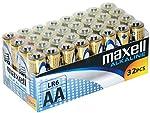 Maxell LR6 - Pack de 32 pilas ...
