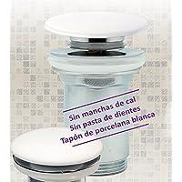 OXEN 171512 Válvula Clic clac de Porcelana Blanca