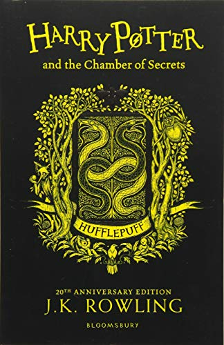 Harry Potter and the Chamber of Secrets - Hufflepuff Edition Cover Image