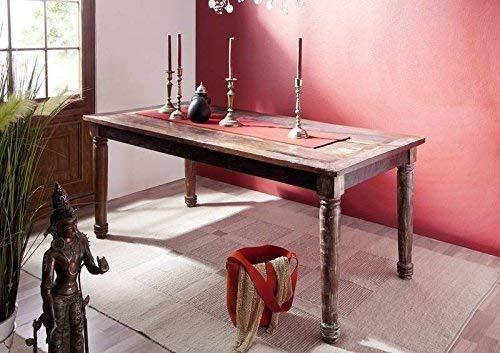 mobili in legno massello vintage in legno massello mobili Tavolo da pranzo 150x80 LEGNO ANTICO LACCATO MULTICOLORE LEGNO MASSELLO RAPUNZEL #07