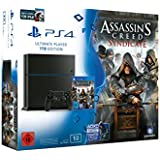 PlayStation 4 - Konsole (1TB) inkl. Assassin's Creed: Syndicate + Watchdogs [CUH-1216B]