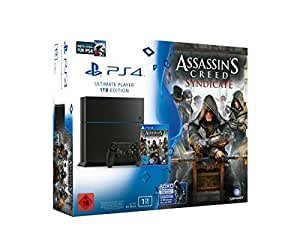 playstation 4 konsole 1tb inkl assassin 39 s creed. Black Bedroom Furniture Sets. Home Design Ideas