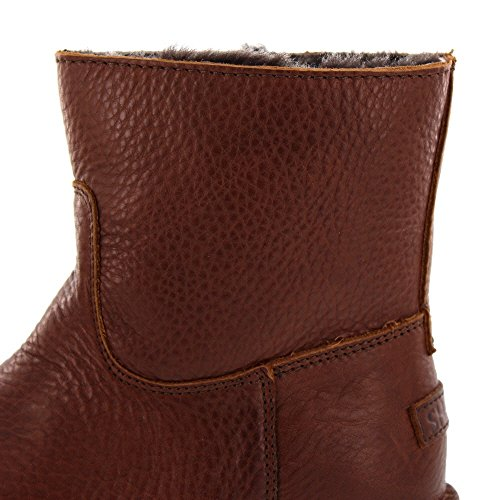 SHABBIES AMSTERDAM - Ankle Boot Low 181020024 - brown Brown