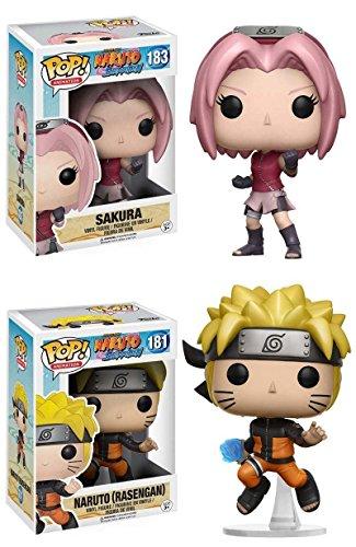 Funko POP! Sakura + Naruto (Rasengan) - Pack de figuras