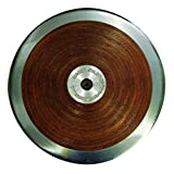 Amber Athletic Gear Amazer Competition Wooden Track Throw Discus for Track and Field